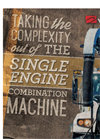 Single Engine Combination Sewer Cleaner